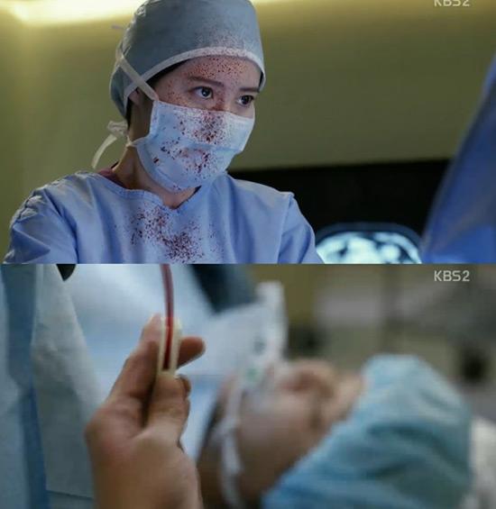 구혜선 연기논란에 블러드 발목 잡히나 블러드는 굿 닥터의 기민수 PD와 박재범 작가의 재회로 화제를 모았지만 배우들의 연기 논란에 발목이 잡힌 꼴이 됐다.  / KBS2 블러드 방송 화면 캡처