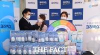 [TF포토] 유한킴벌리, '크리넥스 황사마스크' 신제품 무료 샘플링 이벤트 진행