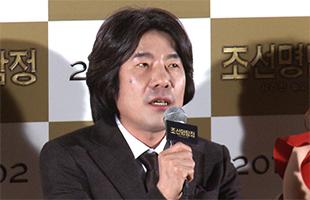 [TF영상] '조선명탐정2' 오달수, '김명민 황정민 사이에서 혼란 가득!'