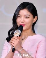 [TF포토] 김유정, '봄을 부르는 분홍빛 입술'