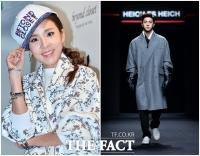 [TF클릭] 산다라박-천둥, '런웨이 안팎을 접수한 패션 남매'
