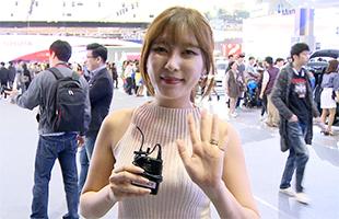[TF영상] '2015 서울모터쇼' 핫 레이싱모델② : 김준영&김세라