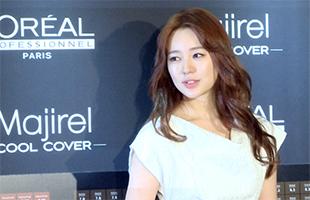 [TF영상] 윤은혜, '로레알' 아시아 모델로 발탁…'브라운 헤어 관심'
