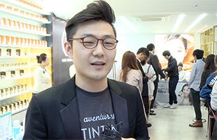 [TF영상] 브랜드 '클레어스', 명동에 '화장품 BAR' 콘셉트로 오픈!