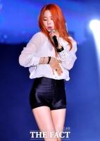 [TF포토] EXID 솔지, '복면가왕'의 섹시 웨이브