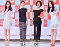 [TF클릭] 송지효-이윤지-장지은-류화영, '섹시' 블랙·'청순' 화이트 패션 대결