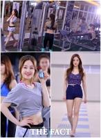 [TF사진관] 박보람, 32kg 감량한 슈퍼보디로 '헬스장과 수영장 접수!'