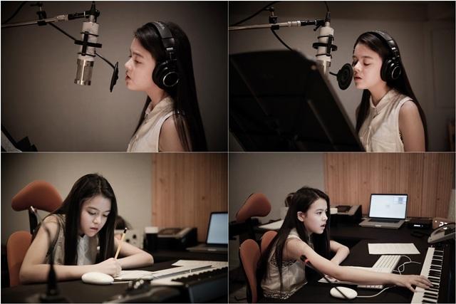 릴리M이 오렌지 마말레이드 OST 겁이나로 데뷔한다. 그는 이번 OST 작업을 프로듀서 윤일상과 함께 했다. /디엔콘텐츠 제공