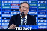 [TF포토] 정몽준, '피파 회장 출마 고려해 보겠다'