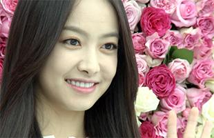 [TF영상] '프레쉬' 포토월, 장미 사이에 피어있는 '빅토리아!'