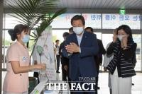 [TF포토] 김무성 대표, 여의도 성모병원 방문