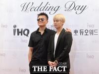 [TF클릭] 박진영-잭슨, '박준형 결혼식 나란히 참석한 JYP패밀리'