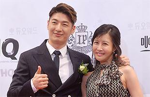 [TF영상] '박준형 결혼' 손정민, 동생 손호영과 함께 '축하해요~'