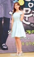 [TF포토] 김가은, '상큼한 손인사'
