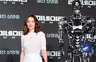 [TF영상] '터미네이터' 에밀리아 클라크, '사라 코너가 반한 이병헌의 연기'