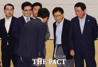 [TF포토] '경제난 극복 위해 뭉친 주요 그룹 사장단'