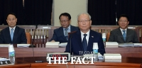[TF포토] 정보위 전체회의 참석한 이병호 국정원장
