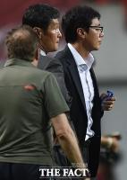 [TF포토] 최용수-황선홍 '희비교차'