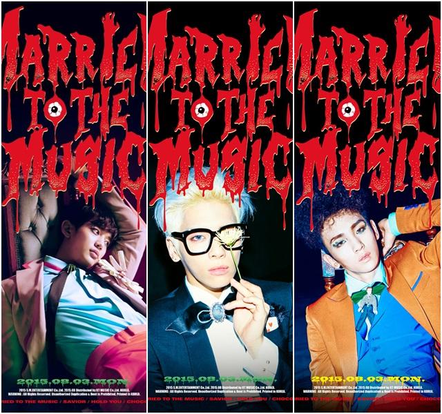 샤이니 멤버 민호 종현 키(왼쪽부터)의 티저. 샤이니 정규 4집 리패키지 수록 음원은 다음 달 2일 밤 12시에 공개된다. /SM엔터테인먼트 제공