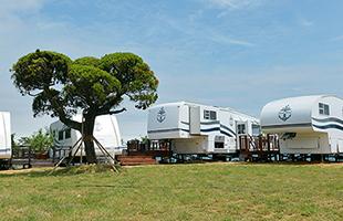 힐링을 위한 여행 '기장일출랜드'의 카라반 캠핑