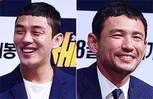 [비하인드30] '베테랑' 황정민-유아인, '보이지 않는 선'