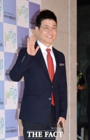 [TF포토] 김성주, '박현빈 결혼식 사회는 바로 저예요'