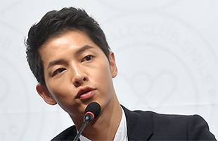 [TF영상] 'FC SMILE 창단식' 송중기,
