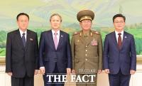 [TF포토] 남북 대표들의 기념 사진
