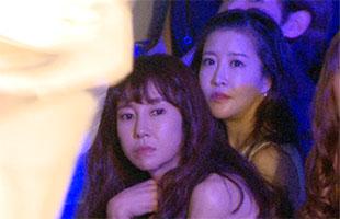 [TF영상] 손정민-채민서, '로앤디 누아&코너스 패션쇼 왔어요'
