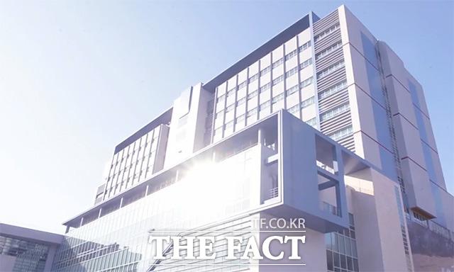 인천 가톨릭관동대국제성모병원에는 의료관광을 콘셉트로 내세운 여행사 마리스투어가 자리잡고 있다./해당 영상 갈무리