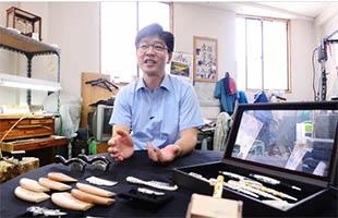 [TF영상] 전통 수공예 '명인의 얼' 대표 김두천, '명장 오해균과 손잡다'