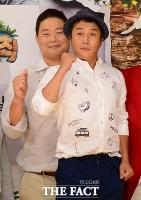 [TF사진관] 김병만-현주엽, 우리는 동갑내기 친구...'키도 동갑?'