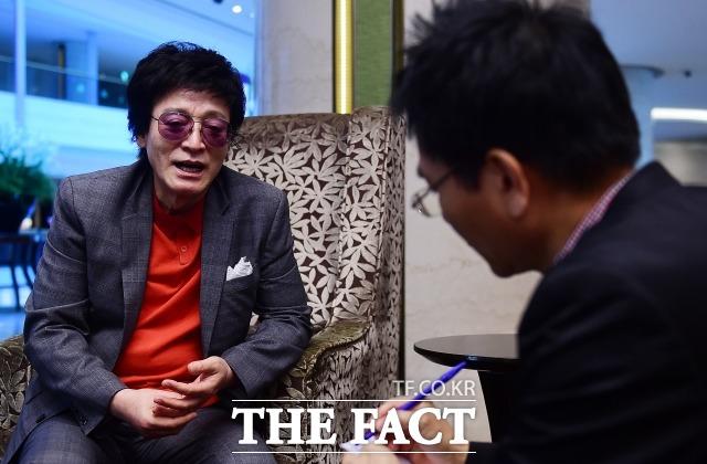 드라마는 재밌게 봤지만 제 노래와 드라마의 연관성은 찾지 못했다 서울 잠실 롯데호텔에서 <더팩트>와 인터뷰를 가진 함중아는 드라마 풍문으로 들었소 방영 당시 누구 보다 재밌게 봤다고 말했다.  /배정한 기자
