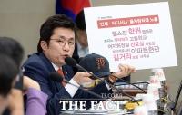 [TF포토] 몰카 범죄 심각성 발언하는 김상민 의원