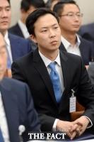 [TF포토] 국감 출석한 박은상 위메프 대표이사