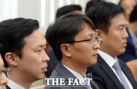 [TF포토] 국감 출석한 소셜커머스 대표들