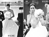 이소연, 행복한 9월의 신부 '우아한 자태 선보여'