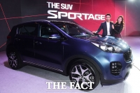 [TF사진관] '새롭게 태어났다!' 기아자동차 'The SUV, 스포티지'의 새로운 모습은?