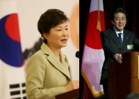 박 대통령-아베, 뉴욕서 대화