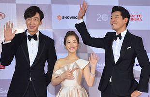 [BIFF영상] '돌연변이' 이광수-이천희, '박보영은 우리 품 안에!'