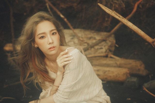 태연의 첫 번째 솔로 앨범 I가 6일 밤 12시에 공개됐다. 이번 앨범에는 동명의 타이틀곡 I를 포함해 모두 여섯 트랙이 수록돼 있다. /SM엔터테인먼트 제공