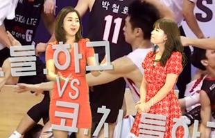 [색다른 기상청] 한중 '친선' 패싸움 농구&색다른 그녀와의 인터뷰