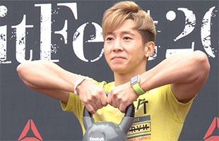 [TF영상] '리복 핏 페스티벌' 브라이언, '팬들과 밀착 만남!'