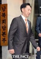 [TF포토] 상봉행사 집결지인 속초로 향하는 이덕행 이산가족상봉행사 지원본부장