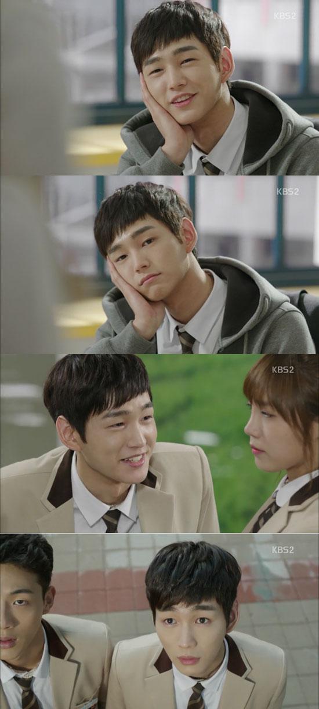 베이비 페이스+훤칠한 비율=만찢남 이원근 완성. 배우 이원근은 발칙하게 고고로 자신의 매력을 시청자에게 확실히 각인시켰다. /KBS2 방송 화면 캡처