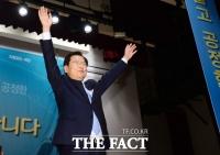 [TF포토] 천정배 의원, '개혁적 국민정당' 만세!
