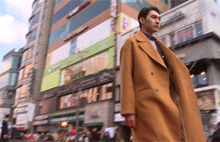 [TF영상] 한국연예사관학교 학생들, '칼바람 뚫는 런웨이 열정!'