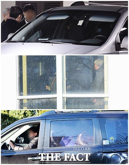 수년간 볼 수 없었던 노 전 대통령은 그렇게 병원을 떠났다.