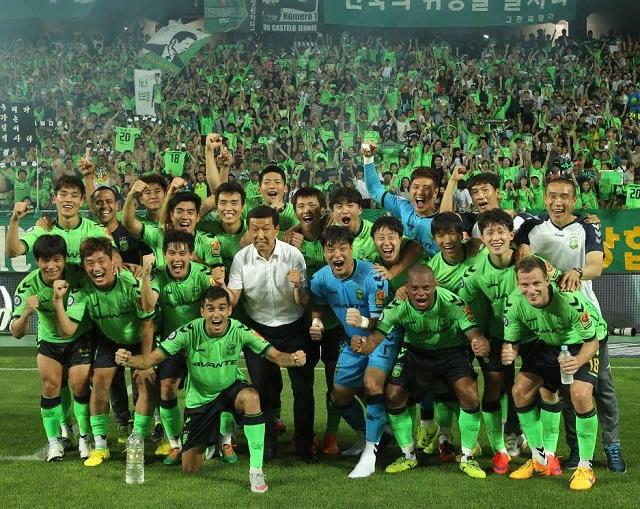 K리그 연봉 공개! 한국프로축구연맹은 24일 오후 2015년 K리그 클래식-챌린지 구단 및 선수 연봉을 공개했다. / 전북 현대 제공