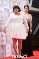 [TF포토] 미모 대결 펼치는 이수지-김나희